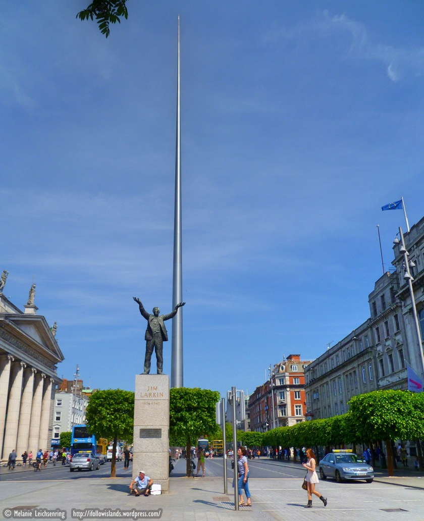 13. Jim Larkin Statue & The Spire.jpg